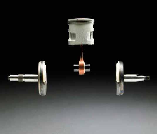 Кованный части двигателя