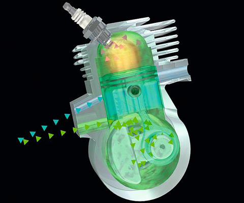 Двигатель STIHL 2-MIX